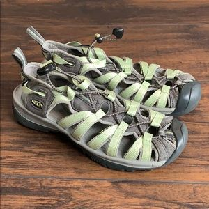 Keen slip on water sandals